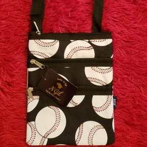 Awesome NGIL Baseball Purse